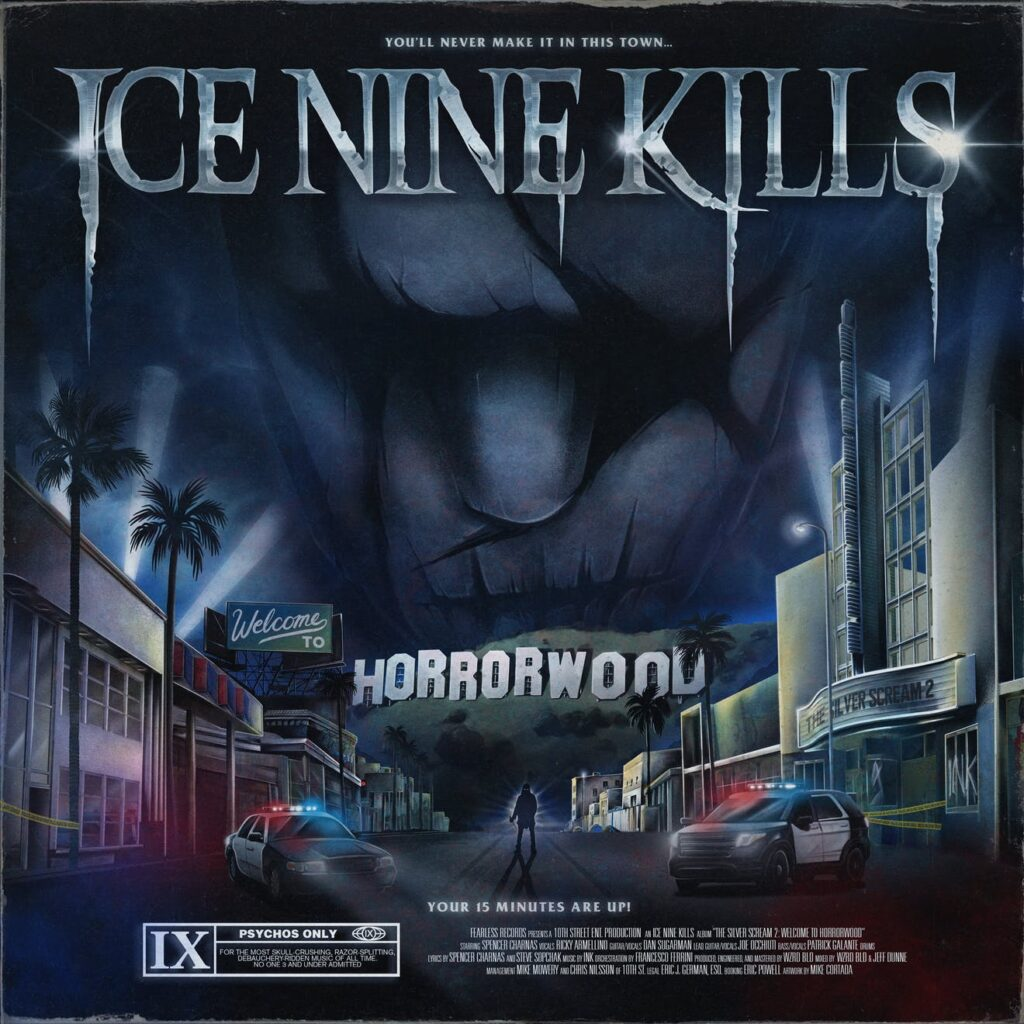 Ice Nine Kills unveils 'The Silver Scream 2: Welcome To Horrorwood' -  Knotfest